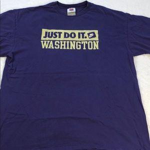 Vintage Nike Washington huskies tee